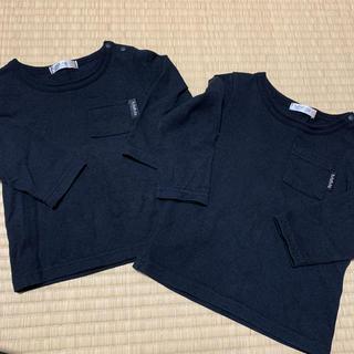 フタフタ(futafuta)のロンT 長袖  80 90 2枚セット(シャツ/カットソー)