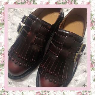 ドクターマーチン(Dr.Martens)の♡ドクターマーチン フリンジ ダブルストラップ♡(ローファー/革靴)