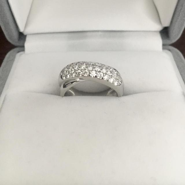 PonteVecchio(ポンテヴェキオ)のポンテヴェキオ パヴェ ダイヤモンド リング K18WG 0.50ct 4.0g レディースのアクセサリー(リング(指輪))の商品写真