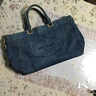 PRADA - 美品 プラダ カナパ  トートバッグ