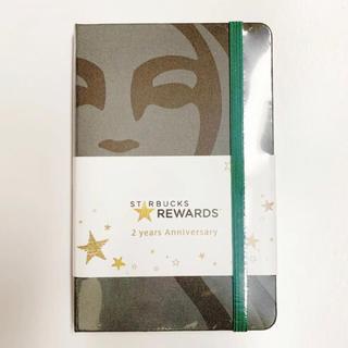Starbucks Coffee - 新品未開封★STARBUCKS モレスキン ノート リワード2周年記念