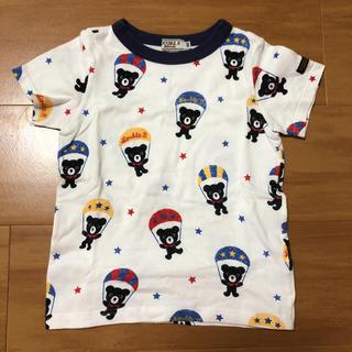 DOUBLE.B - ミキハウス ダブルビー パラシュート Tシャツ 半袖 100