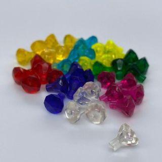 Lego - 【新品】LEGO 宝石 ダイヤ 8色 40個セット