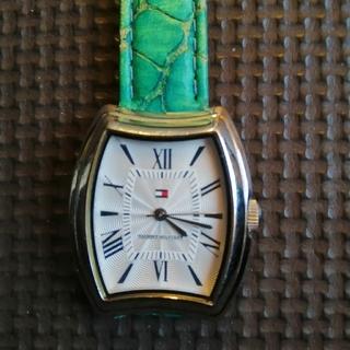TOMMY HILFIGER - TOMMY HILFIGER レディースクオーツ腕時計電池交換済み動作品