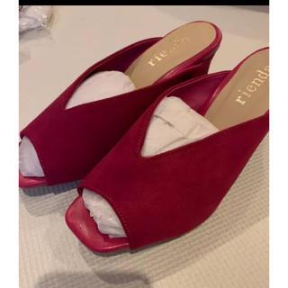 リエンダ(rienda)のリエンダ☆靴☆定価9千円程(ミュール)