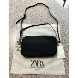 ZARA - ザラ ZARA ショルダーバック 黒色