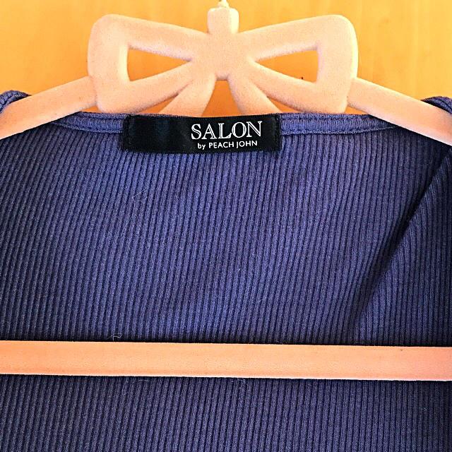 SALON(サロン)のSALON by PEACH JOHN♡フーディローブ S/M レディースのルームウェア/パジャマ(ルームウェア)の商品写真