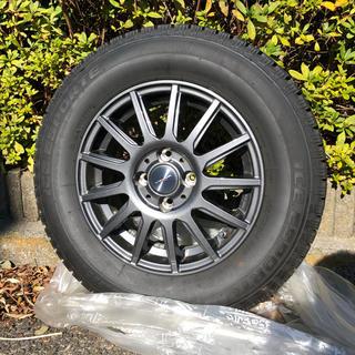 スタッドレスタイヤ ICE ESPORTE ホイールセット4本 2018年製(タイヤ・ホイールセット)