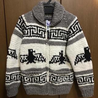 カナタ(KANATA)のKanata カナタ カウチン ジャケット ニット セーター  美品(ニット/セーター)