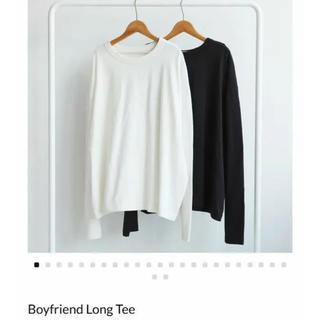 TODAYFUL - TODAYFUL boyfriend long Tee ボーイフレンドロングT