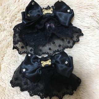 Angelic Pretty - お袖とめ アンプリ 黒