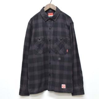 NEIGHBORHOOD - NEIGHBORHOOD LOGGER / C-SHIRT チェックシャツ L