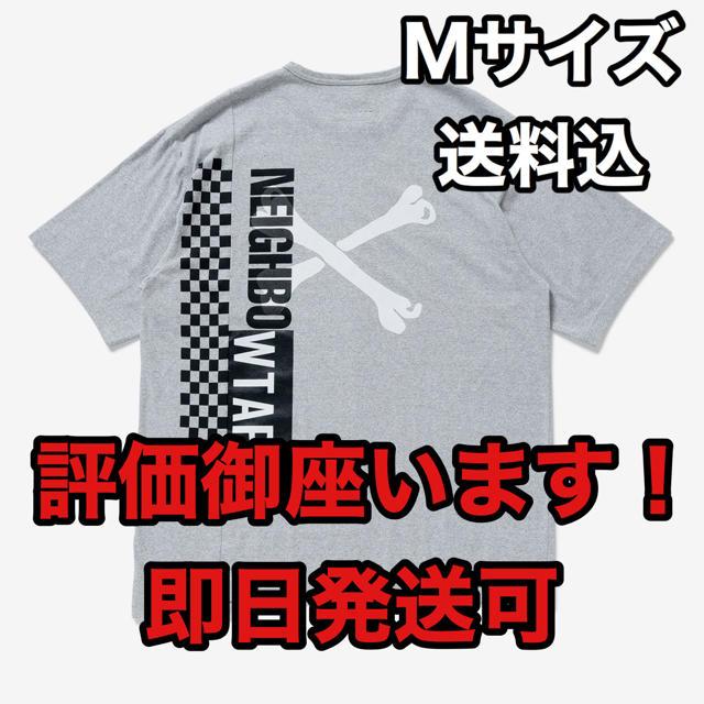 W)taps(ダブルタップス)のM グレー RIPPER SS/TEE. WTAPS NEIGHBORHOOD メンズのトップス(Tシャツ/カットソー(半袖/袖なし))の商品写真