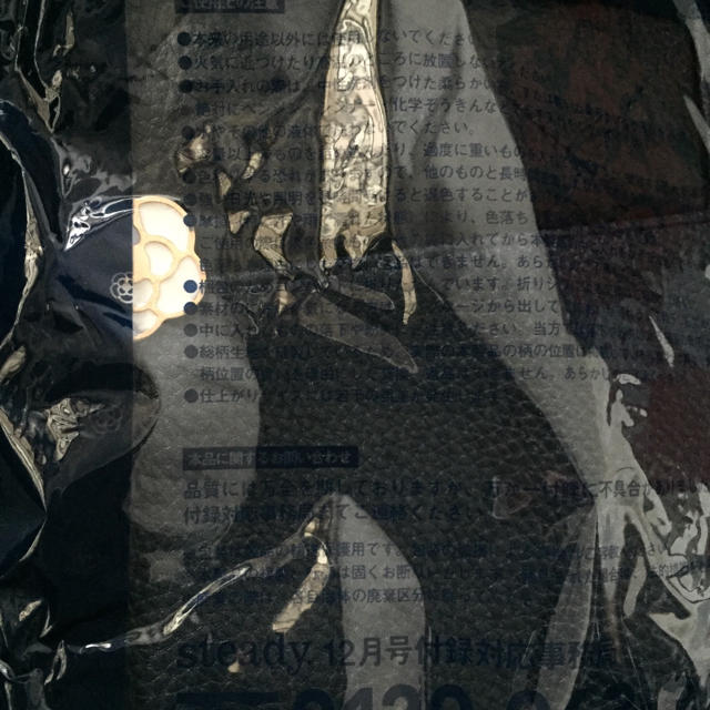 CLATHAS(クレイサス)のsteady 付録 CLATHAS クレイサス  バニティ  キルティング レディースのファッション小物(ポーチ)の商品写真