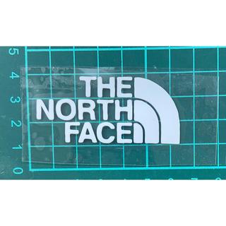 ザノースフェイス(THE NORTH FACE)のノースフェイス アイロンパッチ (白)(各種パーツ)