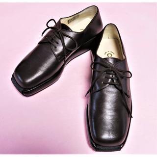 CHANEL - シャネル【CHANEL】 靴 革 こげ茶 ■サイズ 36B 23㎝ ココマーク