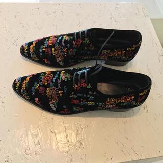 celine - セリーヌ ドレス シューズ 刺繍 ビーズ 超希少 シャツ ジャケット デニム 靴