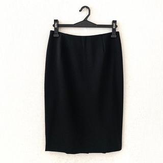 セオリー(theory)のセオリー♡黒色の膝丈スカート(ひざ丈スカート)