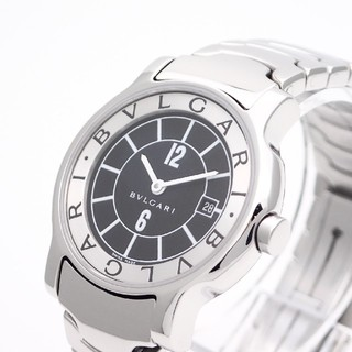 BVLGARI - 【BVLGARI】ブルガリ腕時計 'ソロテンポ' ☆オーバーホール済み・美品☆