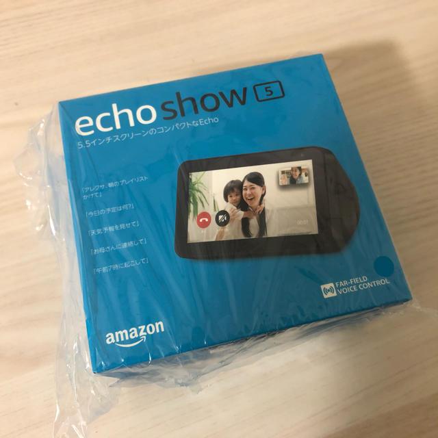 ECHO(エコー)のAmazon Echo Show 5  新品未開封 スマホ/家電/カメラのPC/タブレット(その他)の商品写真