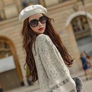 EmiriaWiz - エミリアウィズ ベレー帽 試着のみ 白 ホワイト