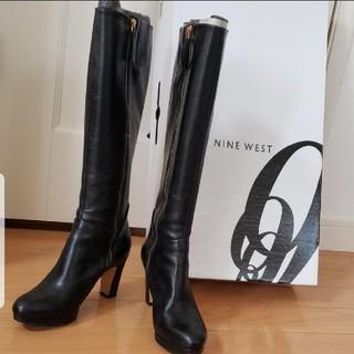 ナインウエスト(NINE WEST)のロングブーツ 黒 ナインウエスト(ブーツ)