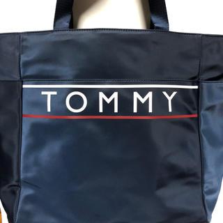TOMMY HILFIGER - 【残1点】新作 TOMMY HILFIGER トミーヒルフィガー トートバッグ