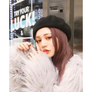 グレイル(GRL)の♡GRL♡ (*´꒳`*) モカ*かわいい*トレンド*こなれ感 ♩ベレー帽♩(ハンチング/ベレー帽)