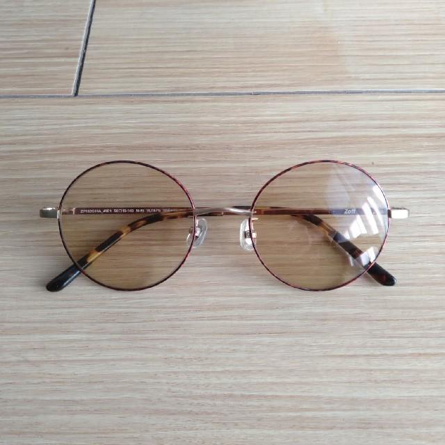 Zoff(ゾフ)のmiho様専用 Zoff TREND SUNGLASSES ブラウン レディースのファッション小物(サングラス/メガネ)の商品写真