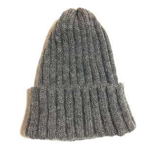 ユナイテッドアローズ(UNITED ARROWS)のUNITED ARROWS ニットキャップ ニットビーニー ニット帽(ニット帽/ビーニー)