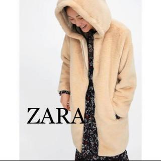 ZARA - ZARA フェイクファーコート