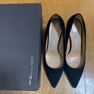 ペリーコ(PELLICO)のペリーコ 0019 ANIMA80 パンプス BLACK 35サイズ(ハイヒール/パンプス)