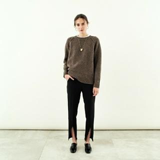 Drawer - YONFA lambs crew sweater