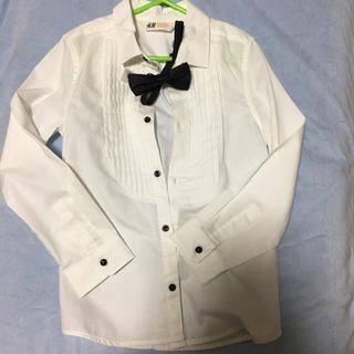 エイチアンドエム(H&M)のH&M ワイシャツと蝶ネクタイ(ドレス/フォーマル)