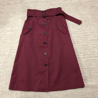 ルーニィ(LOUNIE)のLOUNIEルーニィ トレンチスカート(ひざ丈スカート)