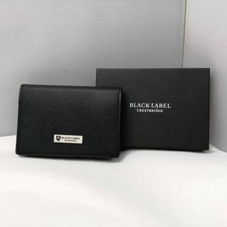BLACK LABEL CRESTBRIDGE - ☆特別価格☆美品✩ BLACK LABEL CRESTBRIDGE 名刺入れ