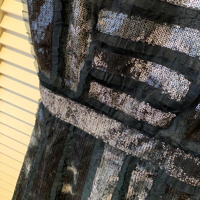 BCBGMAXAZRIA(ビーシービージーマックスアズリア)のBCBG belinda スパンコール ワンピース レディースのワンピース(ひざ丈ワンピース)の商品写真