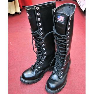 ビブラム(vibram)のビブラム vibram 靴 ブーツ 黒 23cm(ブーツ)