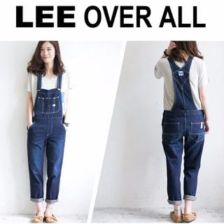 レディスLEE デニムオーバーオール☆Mウエスト約84cm