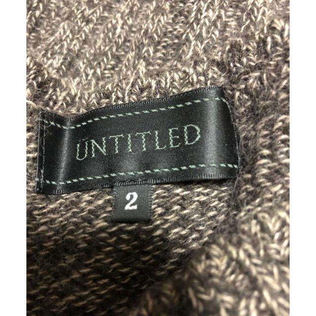 UNTITLED(アンタイトル)のセーター アンタイトル レディースのトップス(ニット/セーター)の商品写真