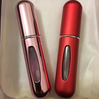 携帯用香水ボトル アトマイザー 二本セット(ボトル・ケース・携帯小物)