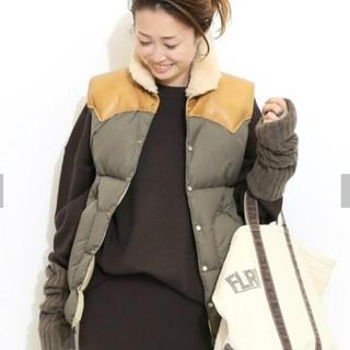 ドゥーズィエムクラス(DEUXIEME CLASSE)の【今季】新品ROCKY MOUNTAIN ✸Christy Vest(ダウンベスト)