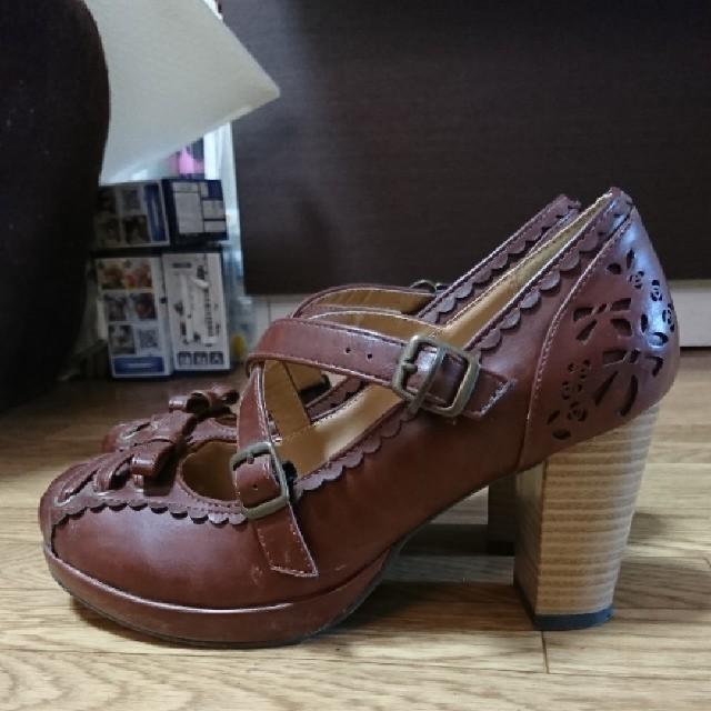 axes femme(アクシーズファム)のaxes ブラウン靴 レディースの靴/シューズ(ハイヒール/パンプス)の商品写真