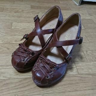 アクシーズファム(axes femme)のaxes ブラウン靴(ハイヒール/パンプス)