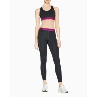 カルバンクライン(Calvin Klein)のカルバンクライン 上下SET スポーツブラ ブラトップ 7/8 タイツ スパッツ(ブラ&ショーツセット)