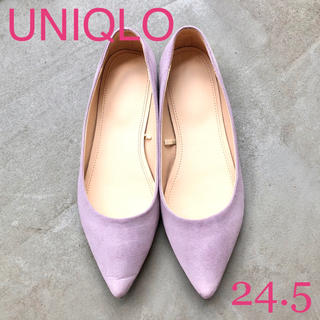 UNIQLO - UNIQLO ユニクロ フラットパンプス 24.5cm