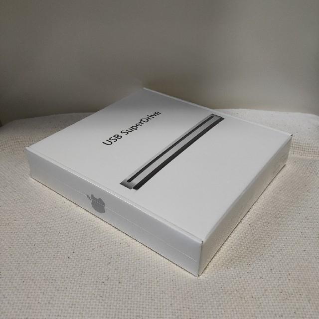 Apple(アップル)のApple USB SuperDrive 未使用・未開封 スマホ/家電/カメラのPC/タブレット(PC周辺機器)の商品写真