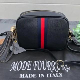 DEUXIEME CLASSE - ◯新品◯タグ付き モードフルーレ イタリア製 ショルダーバック 斜め掛けバッグ