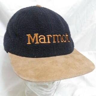 マーモット(MARMOT)のMarmot ツバレザー フリースキャップ デッドストック 90s (キャップ)