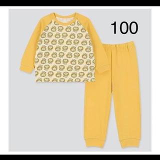 UNIQLO - 新品☆リサラーソン  ユニクロ キッズ パジャマ 100